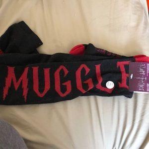 Over the knee Harry Potter socks